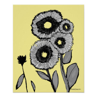 Sweet Flower Art Poster