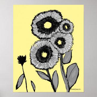 Sweet Flower Art Poster