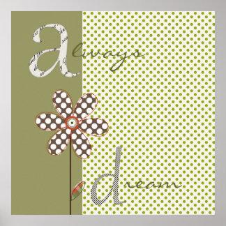 Sweet Flower Blossoms Print