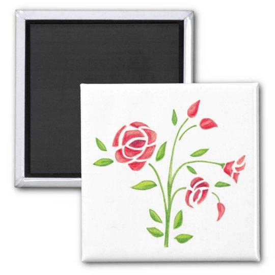 Sweet Flowers Magnet