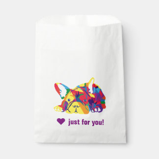 Sweet French Bulldog Favour Bags
