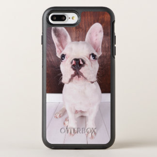 Sweet French Bulldog Puppy OtterBox Symmetry iPhone 8 Plus/7 Plus Case