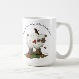 Sweet Friendship Classic White Mug