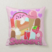 Sweet Fun Desserts Cushion