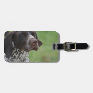 Sweet German Shorthaired Pointer Luggage Tag