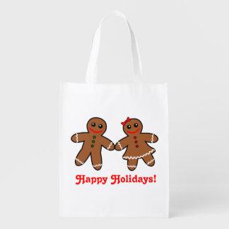 Sweet Gingerbread Couple
