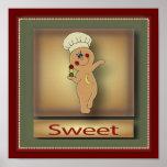 Sweet Gingerbread Man | Original Poster