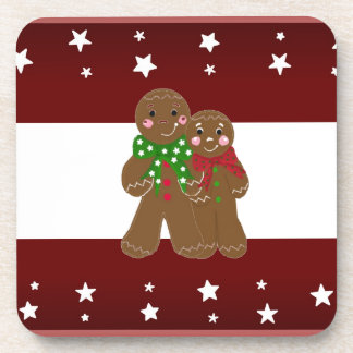 Sweet Gingerbread Men Coasters