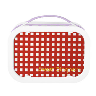 Sweet Gingham Lunch Box