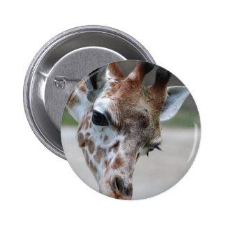 Sweet Giraffe Button