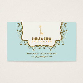Sweet Giraffe Childcare /Boutique Business Card
