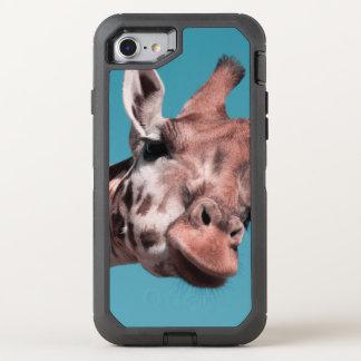 sweet giraffe OtterBox defender iPhone 8/7 case