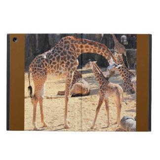 Sweet Giraffes, Mom and Baby, iPad Air iPad Air Cover