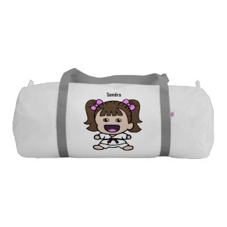 Sweet Girl's Karate Duffel Bag