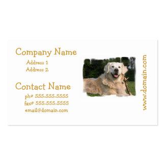Sweet Golden Retriever Business Cards