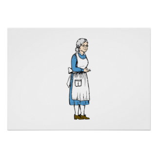 Sweet Grandmother Posters