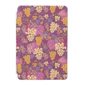 Sweet grape vines pattern background iPad mini cover