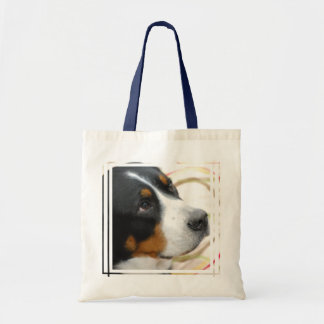 Sweet Greater Swiss Mountain Dog Tote Bag