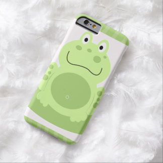 Sweet Green Frog Kids iPhone 6 Case