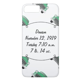 Sweet Green Retro Car Baby Boy Gifts iPhone 7 Plus Case