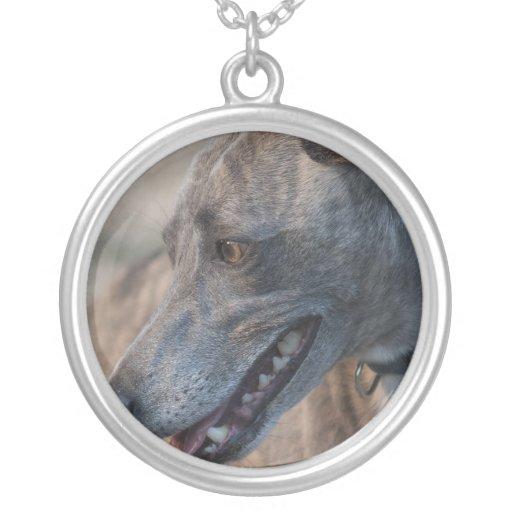 Sweet Greyhound Necklace