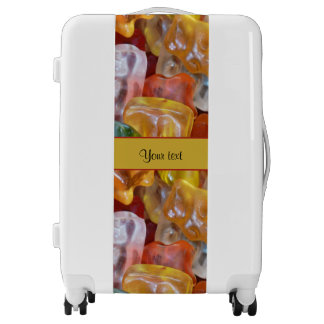 Sweet Gummi Bears Luggage