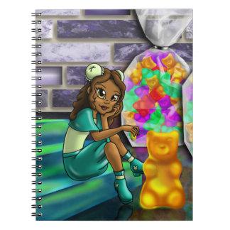 """""""Sweet Gummy Bear Darla"""" Notebook"""
