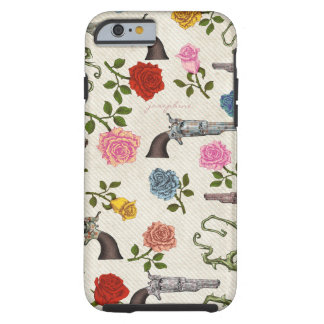 Sweet Guns and Roses Tough iPhone 6 Case