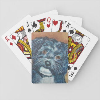 SWEET HAVANESE PUPPY PLAYING CARDS