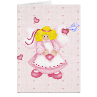 Sweet Heart Angel Card