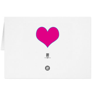 SWEET Heart GiveAway Gifts Purple Template add txt Greeting Card
