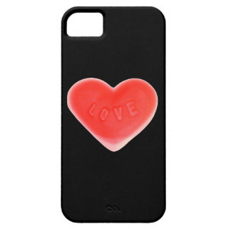 Sweet Heart iPhone 5 barely there (vertical) black iPhone 5 Covers