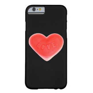 Sweet Heart iPhone 6 barely there (vertical) black Barely There iPhone 6 Case