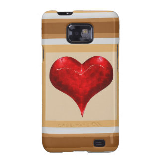 Sweet Heart - LOVE is in the air Galaxy S2 Cover