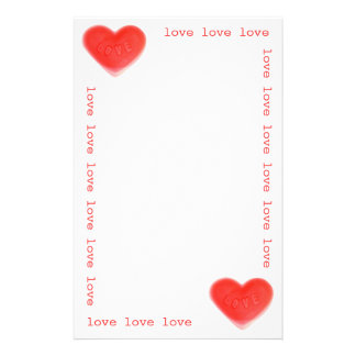 Sweet Heart 'love' stationery