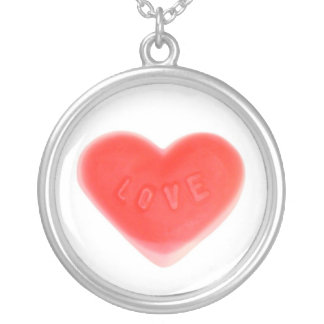 Sweet Heart necklace round