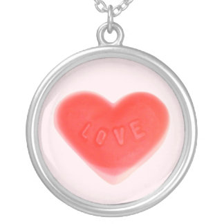 Sweet Heart Pink necklace round
