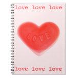 Sweet Heart Pink notebook