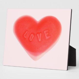 Sweet Heart Pink photo plaque