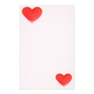 Sweet Heart Pink stationery