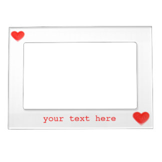 Sweet Heart 'text' magnetic frame