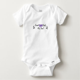 Sweet heart that's my jam music baby one piece baby onesie