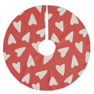 Valentines Day Christmas Tree Skirts Zazzle Co Uk