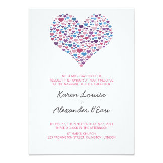 Sweet-Heart Wedding Card