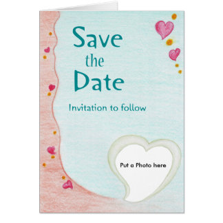 Sweet Heart Wedding Invitation Greeting Card