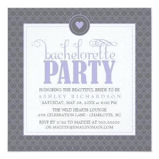Sweet Hearts Bachelorette Party Invitation