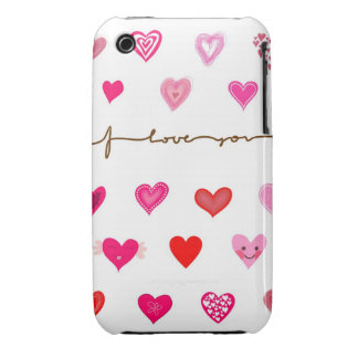 Sweet hearts case iPhone 3 cover
