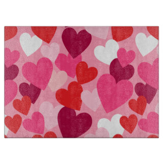 Sweet Hearts for your Sweetheart Cutting Board