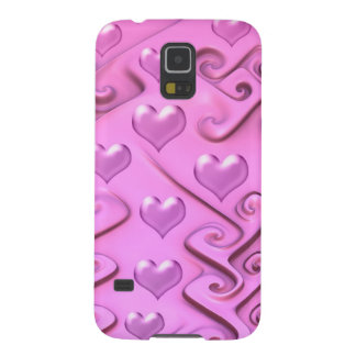 Sweet Hearts, girly decorative Galaxy S5 Cases