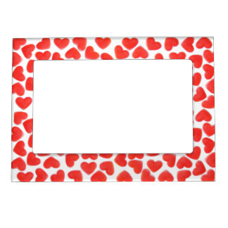Sweet Hearts magnetic frame